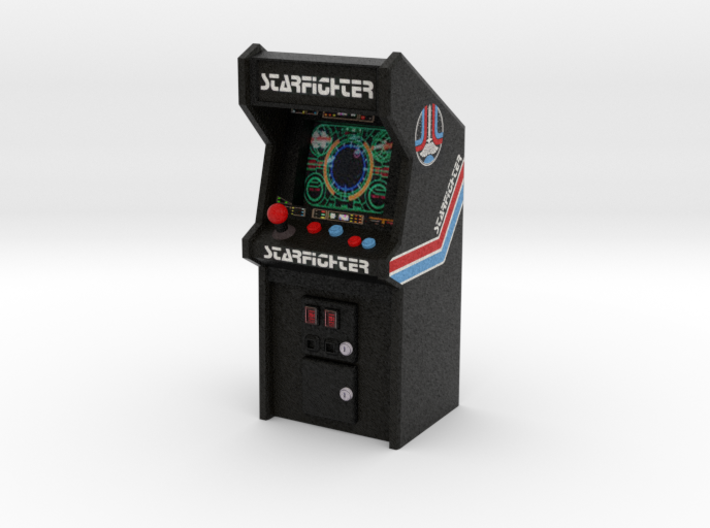 "3 3/4"" Scale Last Starfighter Arcade Game 3d printed"