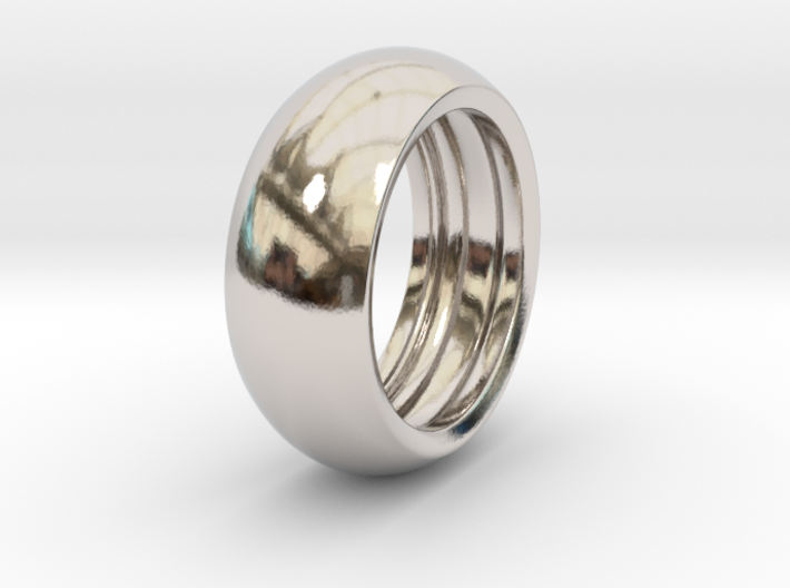 Ralph H. - Slick Ring Hollow 3d printed