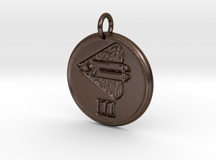 Riven Pendant Set - Fish (1 of 5) 3d printed
