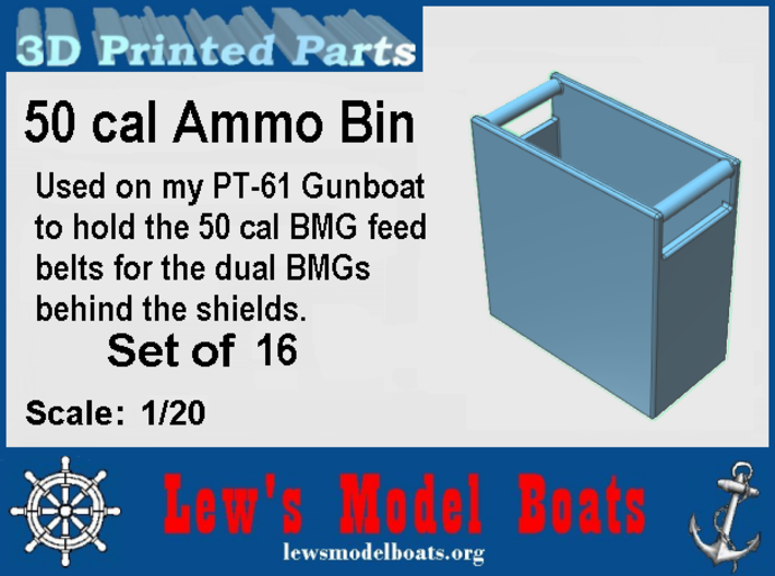Dual 50 BMG Ammo Boxes 3d printed