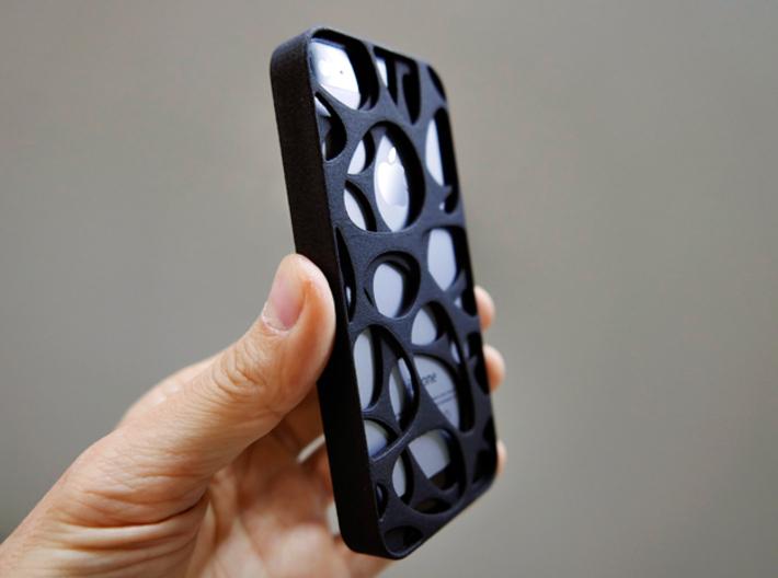 iPhone SE/5S Case_Voronoi 3d printed