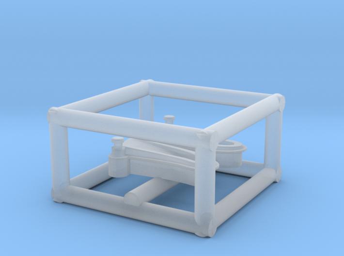 1/192 USN Windlass Foredeck 3d printed