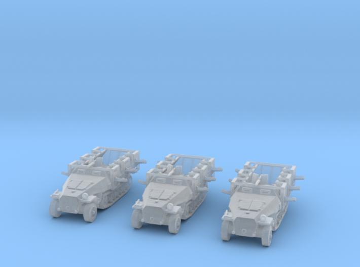 Sdkfz 251 empty 1/350 x3 3d printed