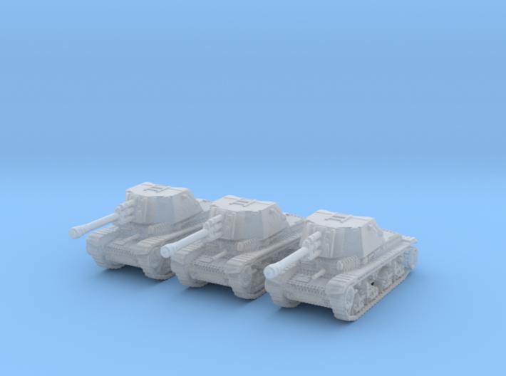 TAcam tank R2 1/350 3d printed