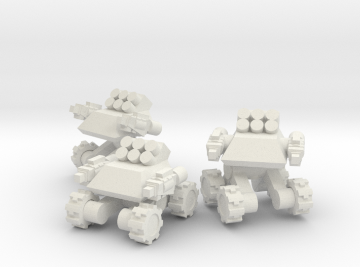Rim Bastion Infantry Support Drone Team 3d printed