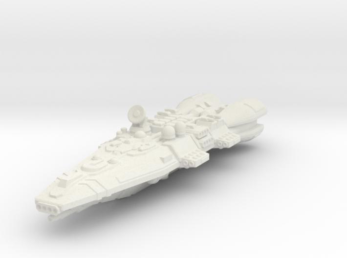 Colonial Battlecruiser 3d printed