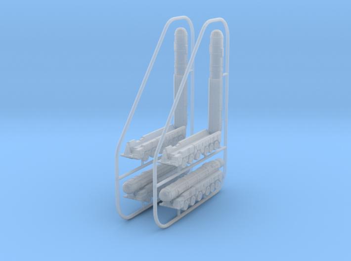 1/600 SS-20 Saber (RSD-10 Pioneer) x4 3d printed