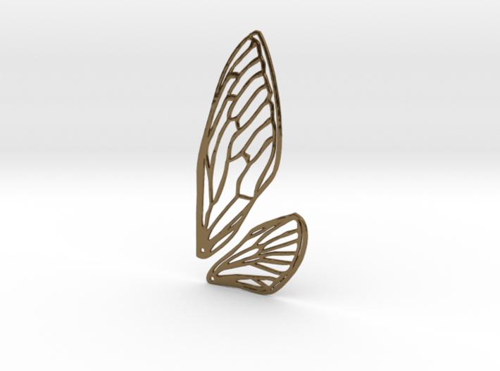 Cicada wings 3d printed
