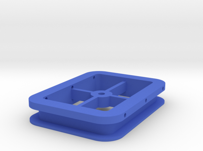 2D Coil Spin Mount Jig 3d printed