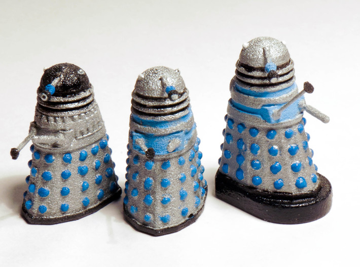 Dalek Mk III - Neutral Pose 3d printed Painted prints (only left hand unit included)