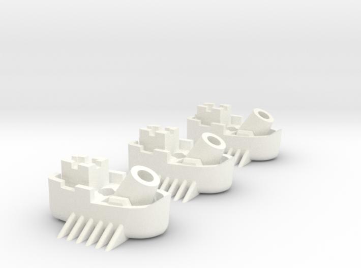 Fantasy Fleet Mortar Boats 3d printed