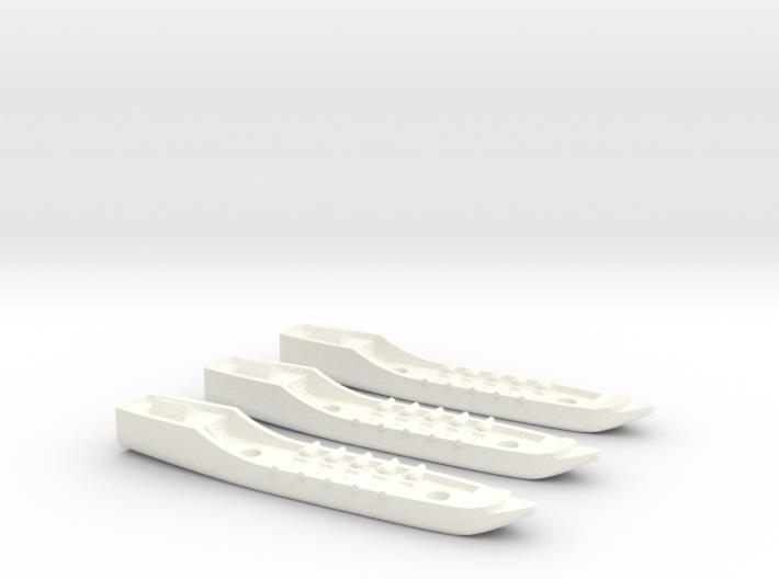 Fantasy Fleet Corvettes 3d printed