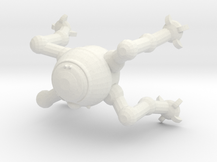 D5-p10 Astromech Droid 3d printed
