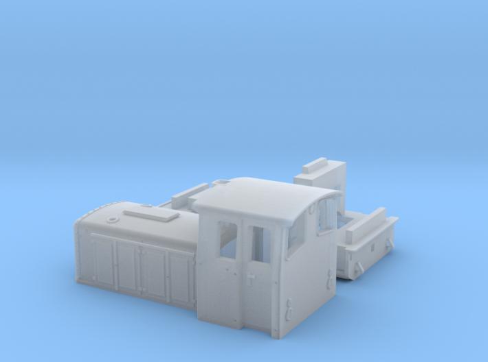 O&K Diesellok Typ MV8 Spur N 3d printed