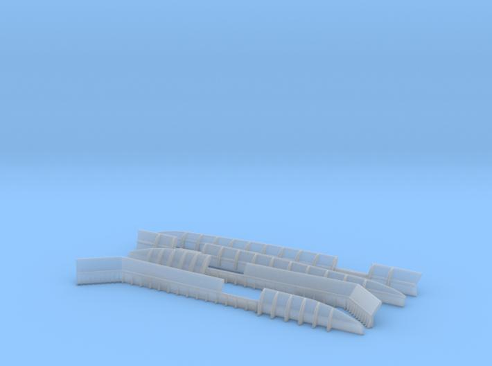 1/100 DKM Seamean's Washroom Set 3d printed