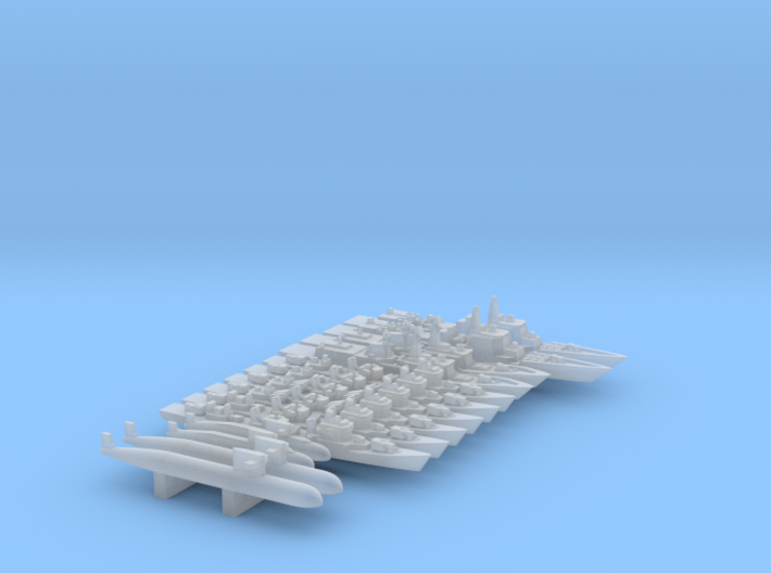 Special PLAN Pack #1, 14pc, 1/6000 3d printed