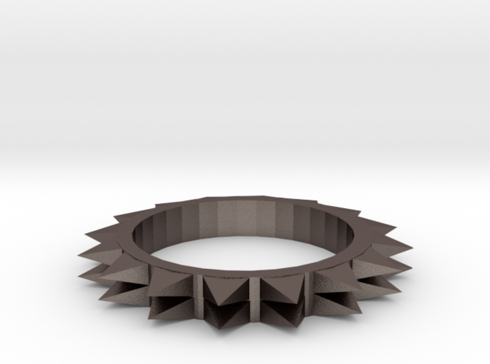 Spiked Ring Size 8 3d printed