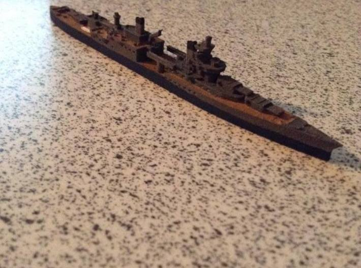 USS Indianapolis 1/1800 3d printed By Bret7073