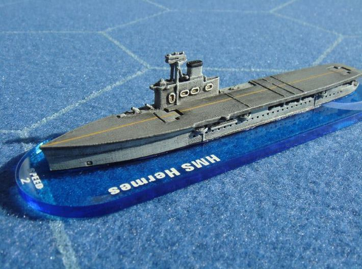 HMS Hermes 1/1800 3d printed By Shinnentai