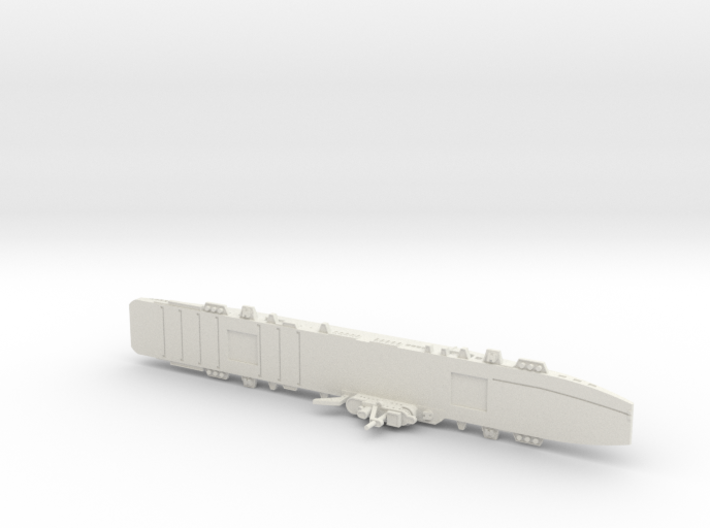 HMS Colossus 1/1800 3d printed