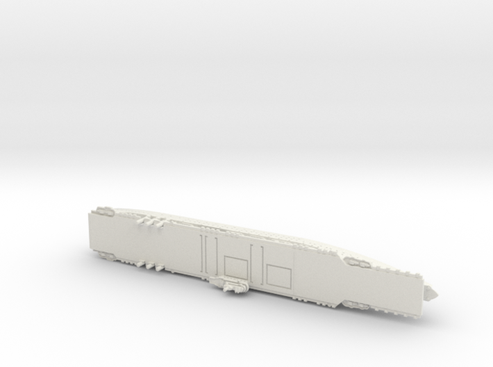 Ranger 1/1800 Without Raised Deck Details 3d printed