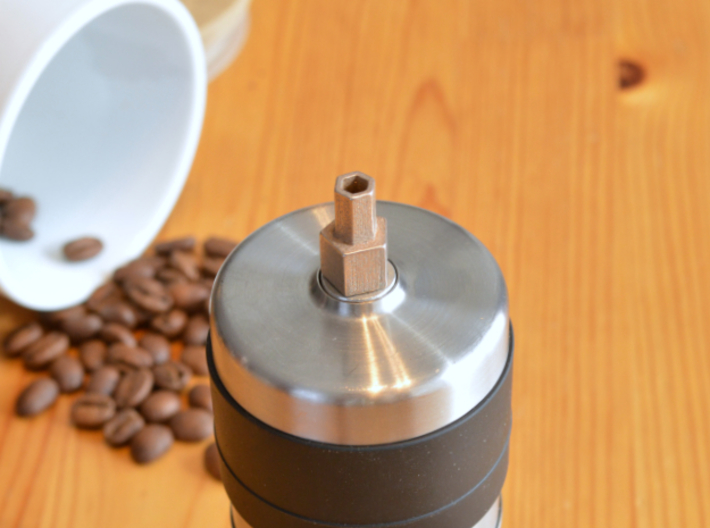 Coffee Grinder Bit For Drill Driver CDP-RE 3d printed