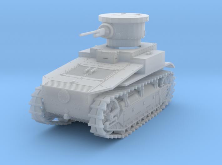 PV19C T1E2 Light Tank (1/87) 3d printed