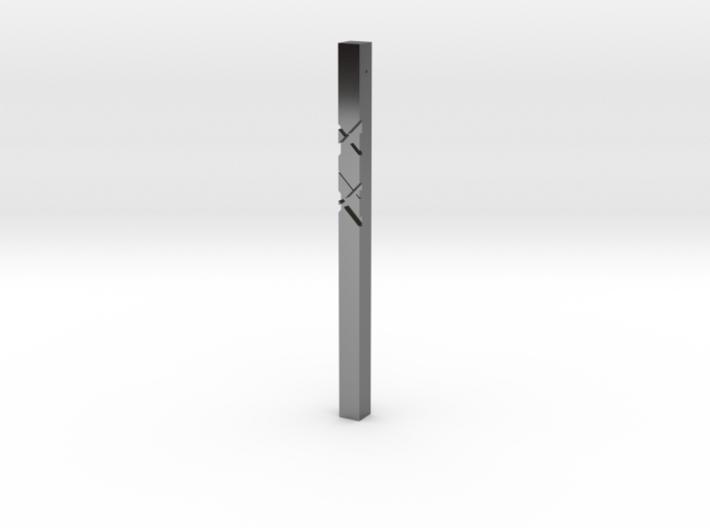 Pendant 2D 3d printed