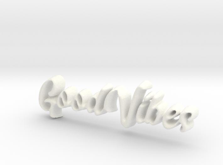 GoodVibes Pendant 3d printed