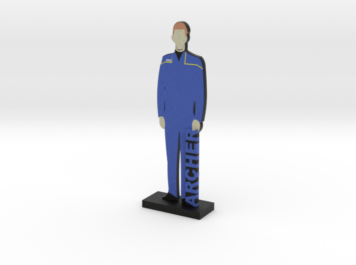 Captain Jonathan Archer = DESKAPADES = 3d printed