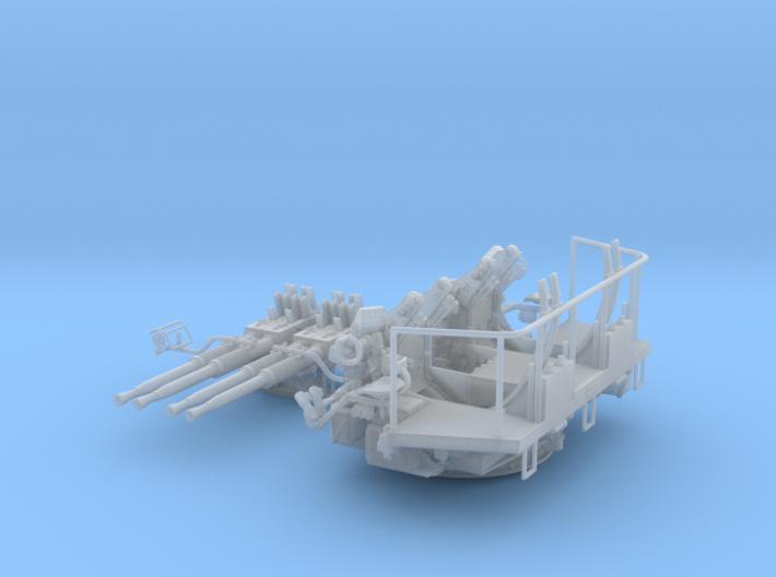 1/35 40mm Bofors Quad Mount USN WWII ships 3d printed