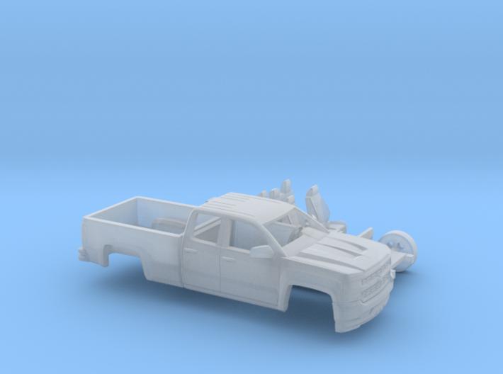 1/160 2016/17 Chevrolet Silverado EXT Cab Long Bed 3d printed