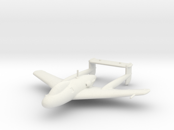 SNCASO (Sud-Ouest) SO.8000 'Narval' 3d printed