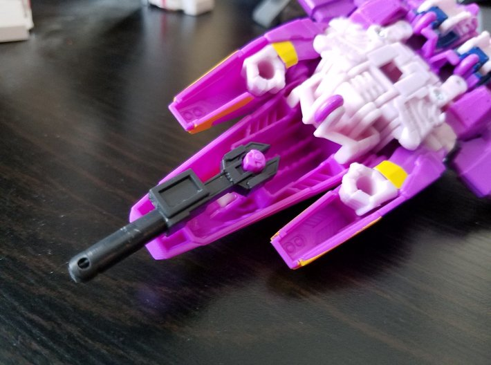 Nautica's Wrench (5mm) 3d printed Wrench stores in vehicle mode as well.