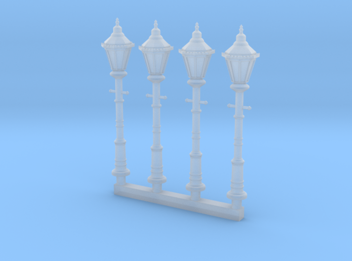 Victorian Street Light 28mm Group 3d printed