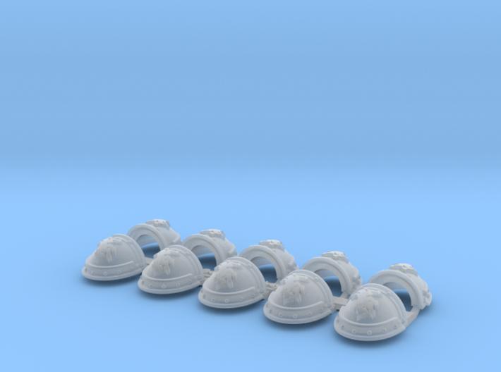 Warhounds - Gen3:Iron Shoulder x10 3d printed