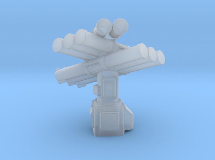 Corvus 8 Tube Standard Pedestal 1/144 3d printed
