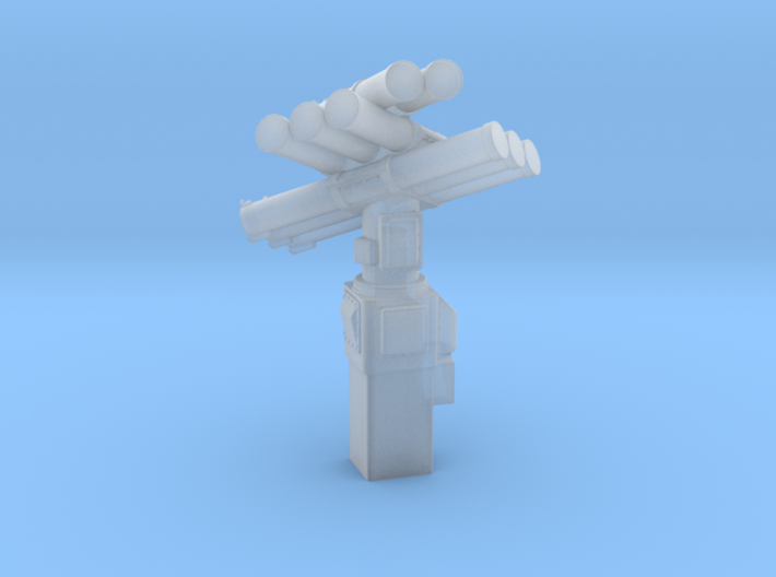 Corvus 8 Tube Extended Pedestal 1/144 3d printed