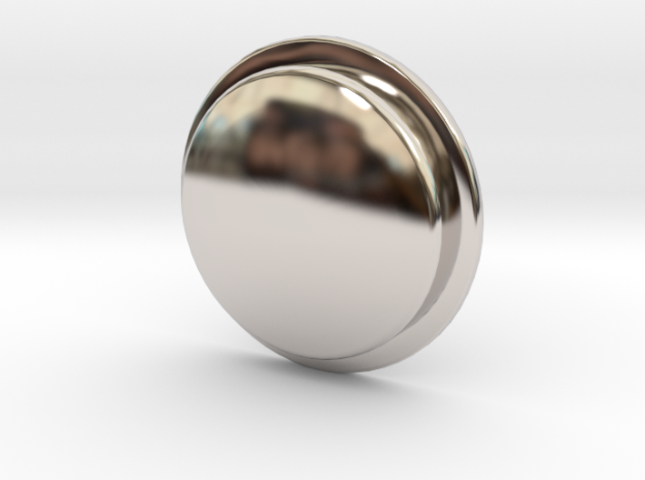TLF# - Shabby Button 3d printed