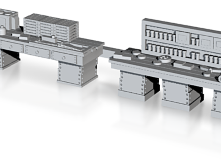 Workshop Workbenches, N Scale Fine Detailing 3d printed Finely detailed N WORKBENCHES
