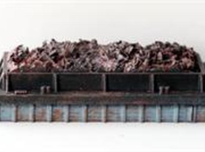 Barge to Create your own Theme N Scale 3d printed Barge to make your own Theme in N Scale