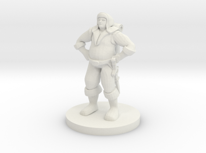 Pleasantly Plump Adventurer - Sirac Of Suzail 3d printed
