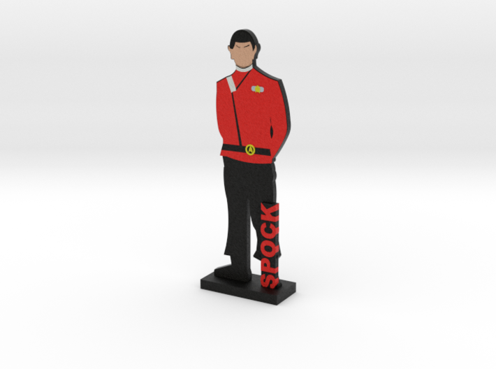 First Officer Spock = DESKAPADES = 3d printed