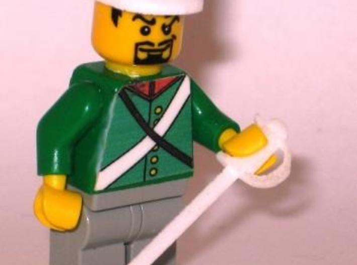 French General 3d printed Minifig