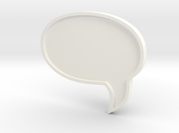 COMIC MESSAGE BUBBLE FOR MINI COOPER ALL MODELS 3d printed