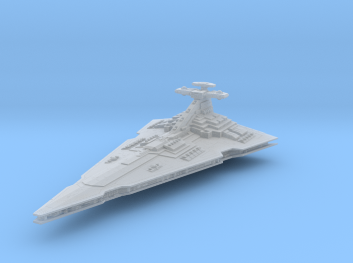 Praetor Command Battlecruiser (armada) 3d printed