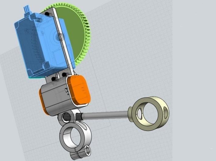 Follow Focus Servo Holder (v2) 3d printed