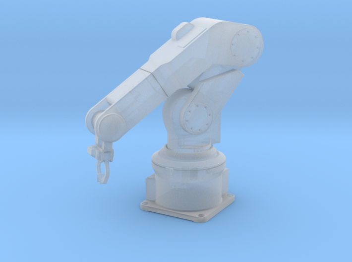 1/24 Robotic Arm Solid Round 3d printed
