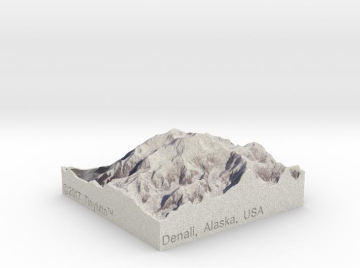 Denali, Alaska, USA, 1:250000 Explorer 3d printed