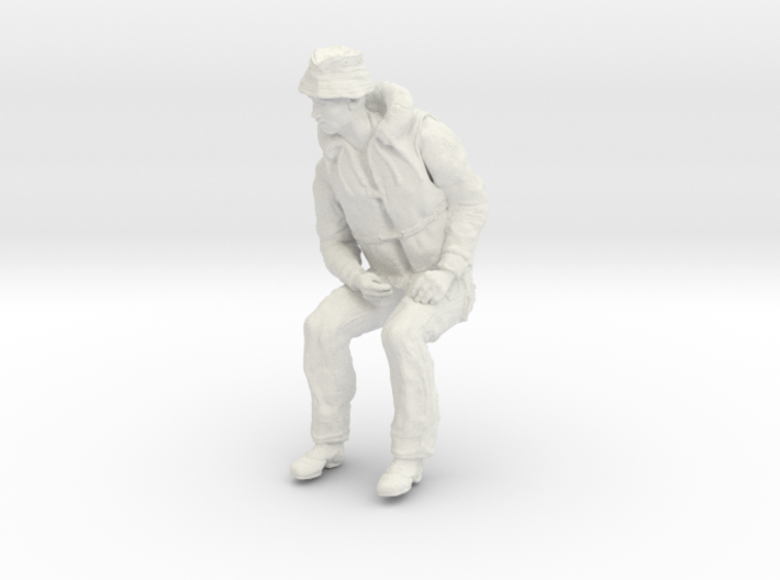 1-16 Seated Merch Navy Sailor 2-6-3 3d printed